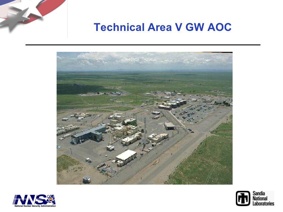 Technical Area V GW AOC