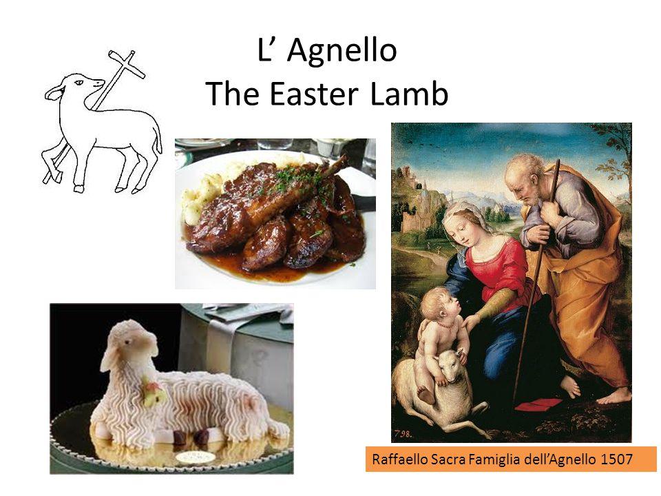 L' Agnello The Easter Lamb Raffaello Sacra Famiglia dell'Agnello 1507