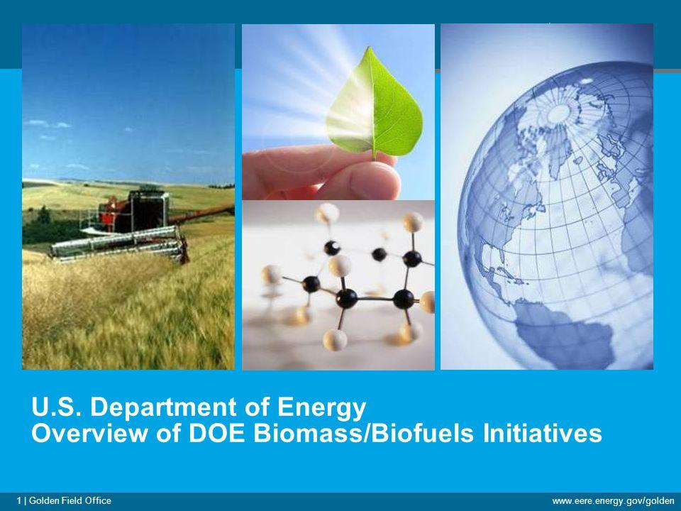 1 | Golden Field Officewww.eere.energy.gov/golden U.S.