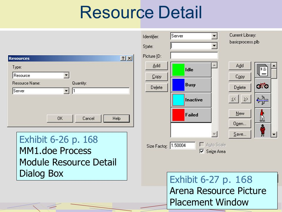 Resource Detail Exhibit 6-26 p.