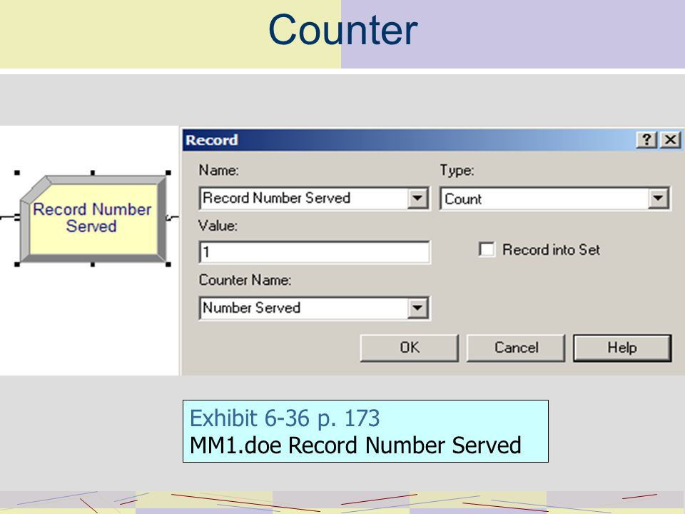 Counter Exhibit 6-36 p. 173 MM1.doe Record Number Served
