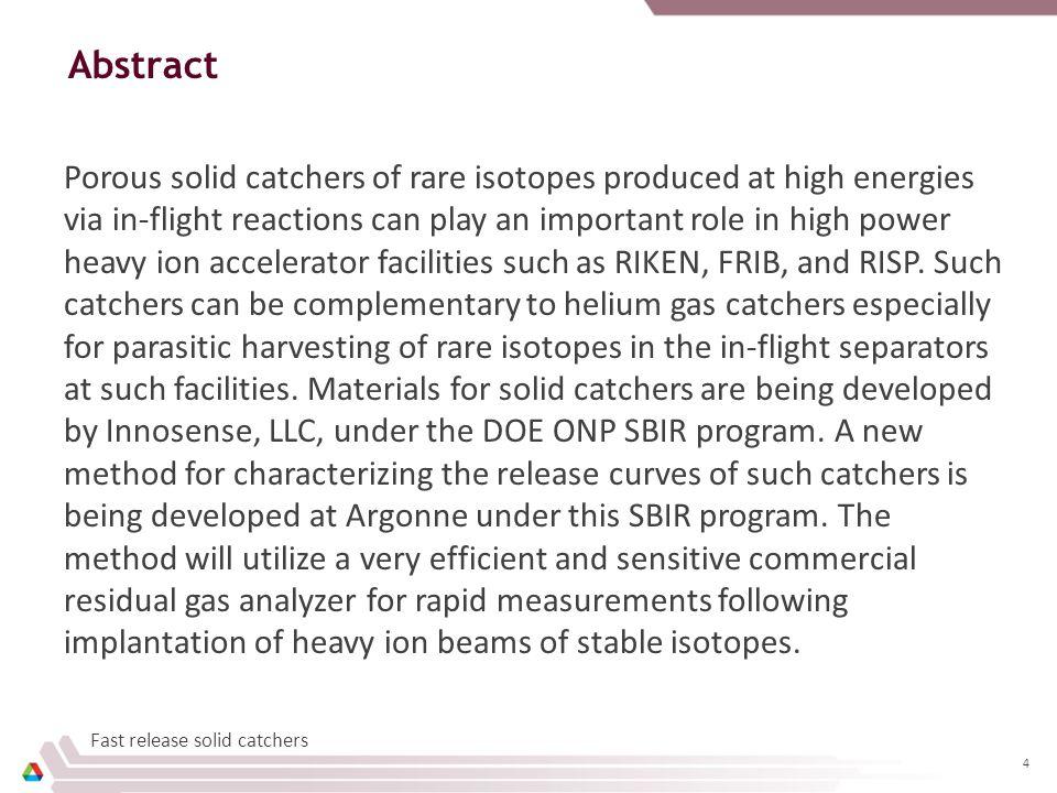 Slide 5 January 15, 2015 Agency: Department of Energy Sponsor: Office of Nuclear Physics Program Officer: Dr.