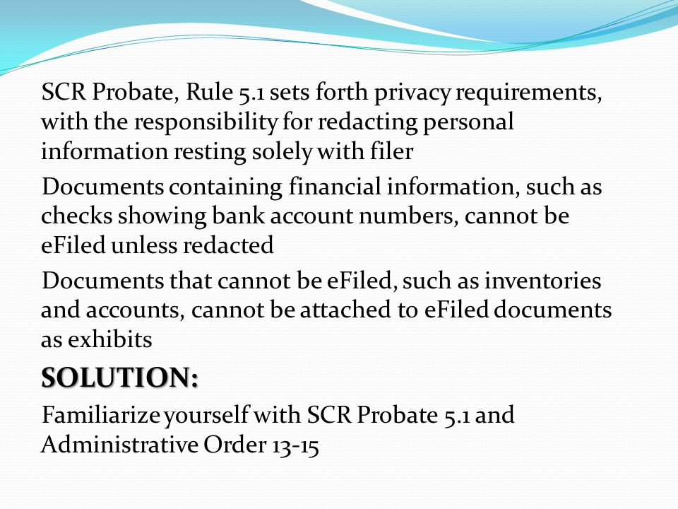 REASON #10 Missing VCNO or proofs SOLUTION: Please file together