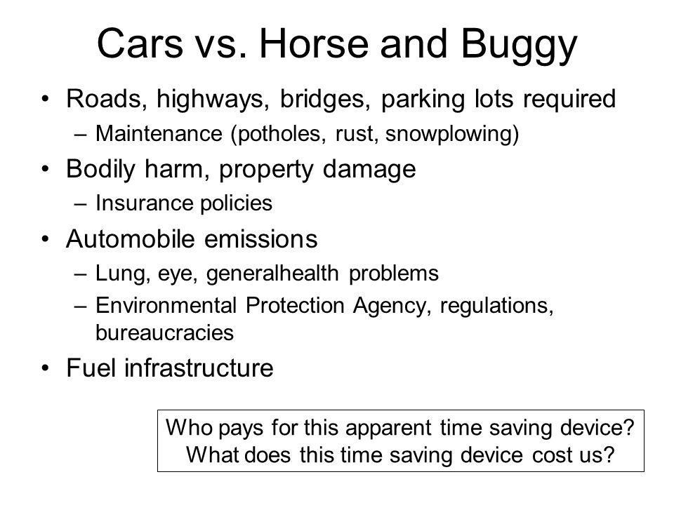 Cars vs.