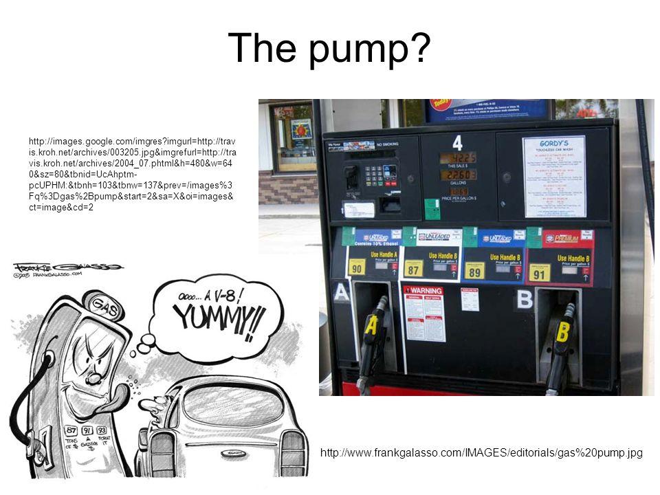 The pump.