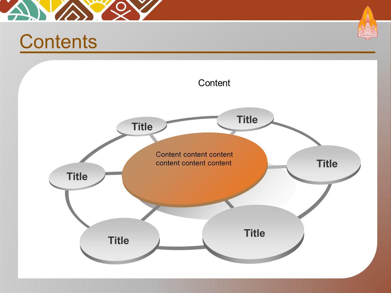 Contents Content Content content content content content content Title