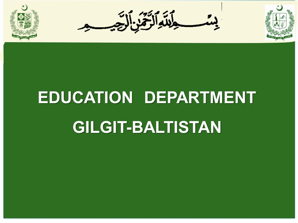 Gilgit-Baltistan Education Assessment Centre- GB-EAC Project (2007-12) Credit Agreement Signed (NEAS): 09-10-2003 Approval by GBDDWC (GBEAC) :5-07-2007 Financial Contributions: i.Foreign (IDA+DFID): Rs.