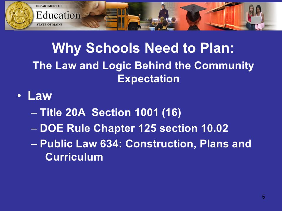 16 School Disaster Planning Principles School Disaster Planning Recognizes vulnerability to many hazards Involves everyone- fire, police, parents, students, school staff, public works, mental health resources, etc.