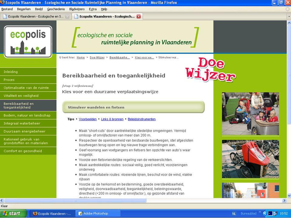 C2C Network Project – Maastricht 09/07/10 Website > Doe-wijzer