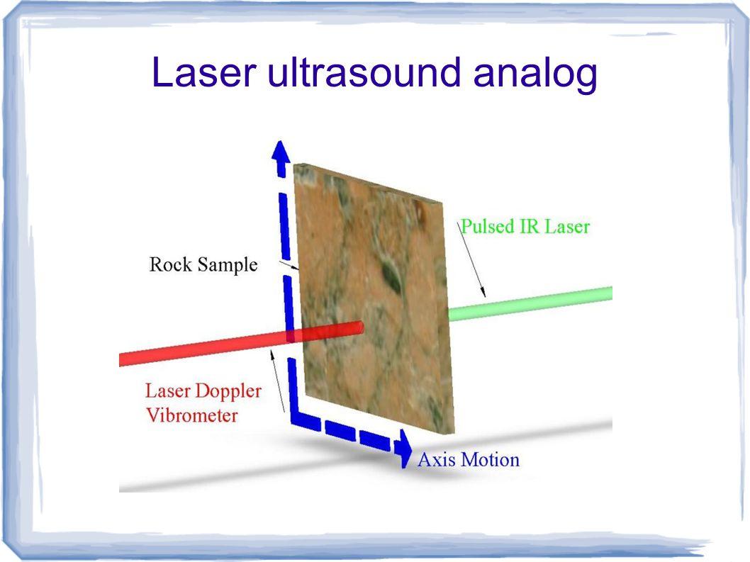 Laser ultrasound analog