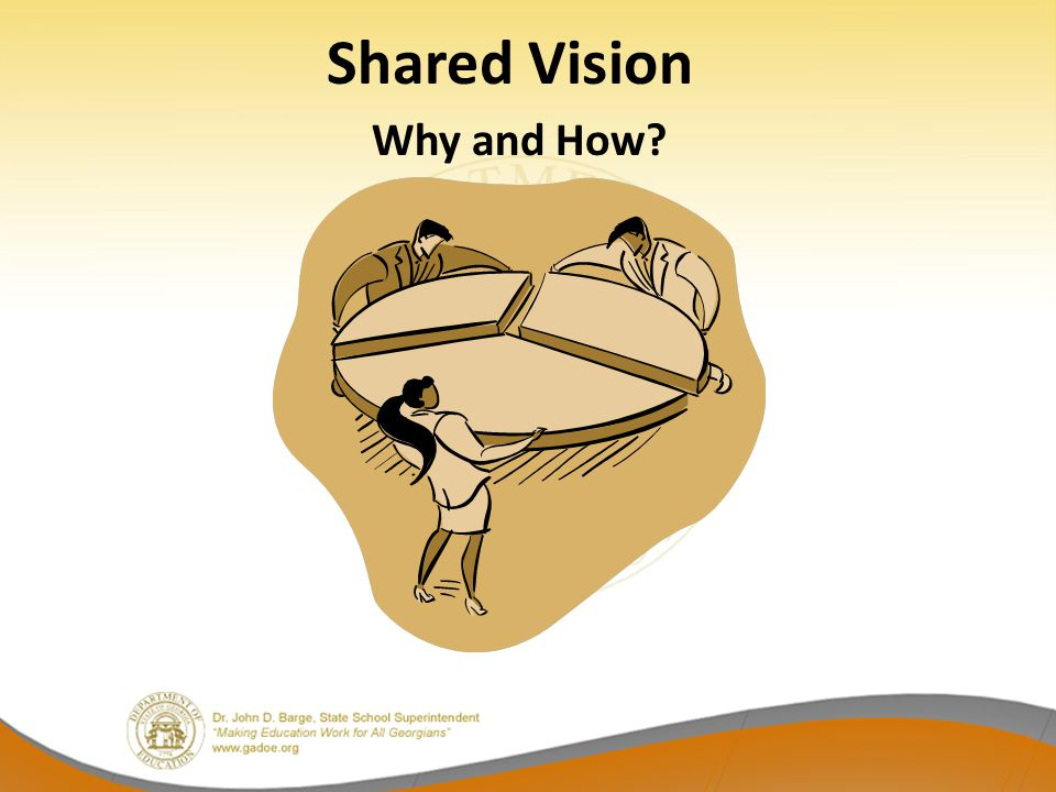 Shared Vision Why and How?
