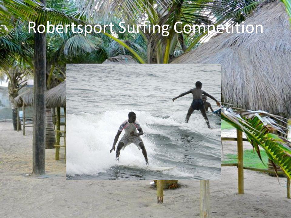 Robertsport Surfing Competition