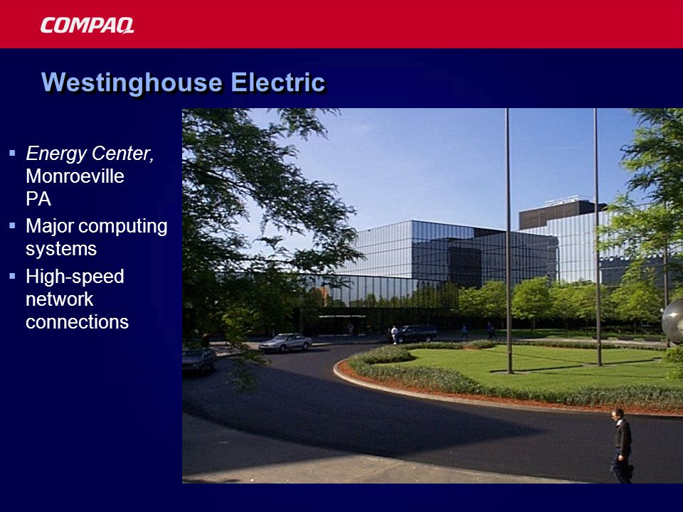 Westinghouse Electric  Energy Center, Monroeville PA  Major computing systems  High-speed network connections