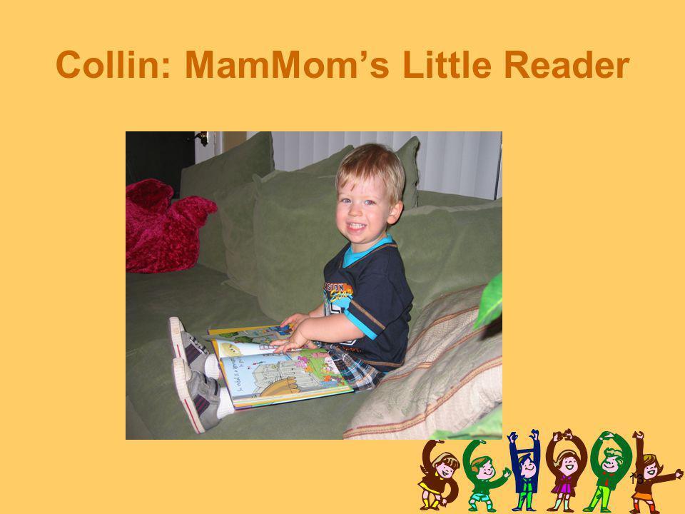 13 Collin: MamMom's Little Reader