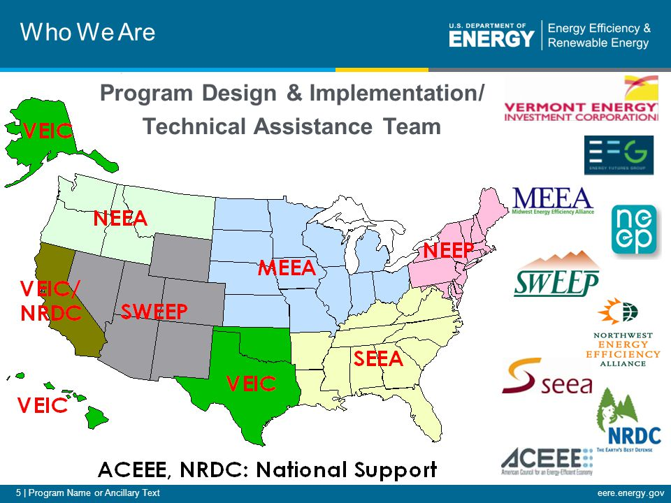 6 | Program Name or Ancillary Texteere.energy.gov Overview Why a Residential Retrofit Program Design Guide (Design Guide) Introduce elements of the Design Guide –Assess, Plan, Implement, Evaluate When/where to find the Design Guide Case Study: Efficiency Maine's Home Energy Savings Program Q&A 6