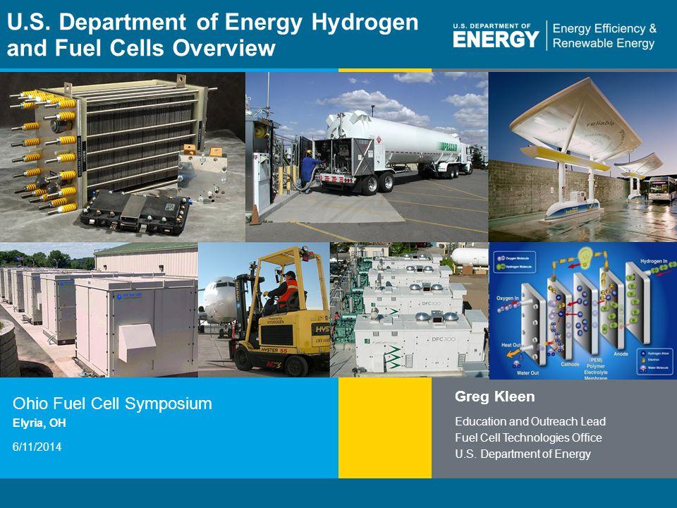 1 | Fuel Cell Technologies Officeeere.energy.gov U.S.