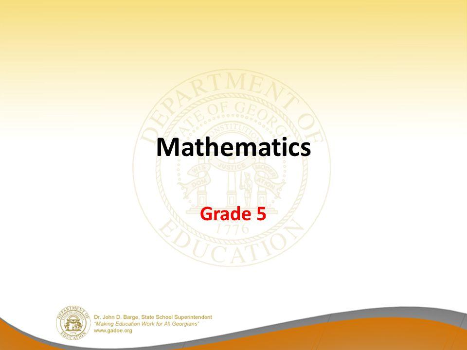 Mathematics Grade 5