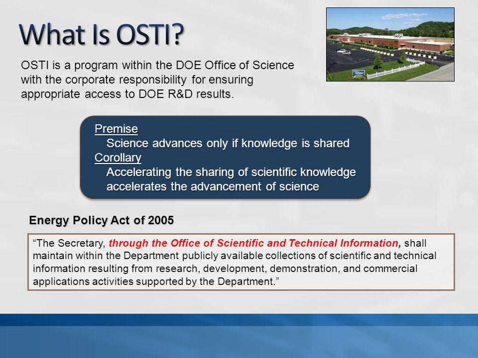 DOE invests over $10 billion/year in basic sciences, clean energy technology, nuclear research.