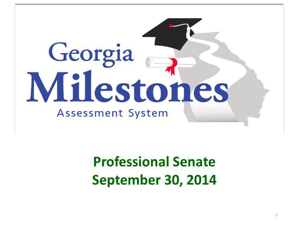 Georgia Milestones – Social Studies Social Studies will consist of 2 sections.