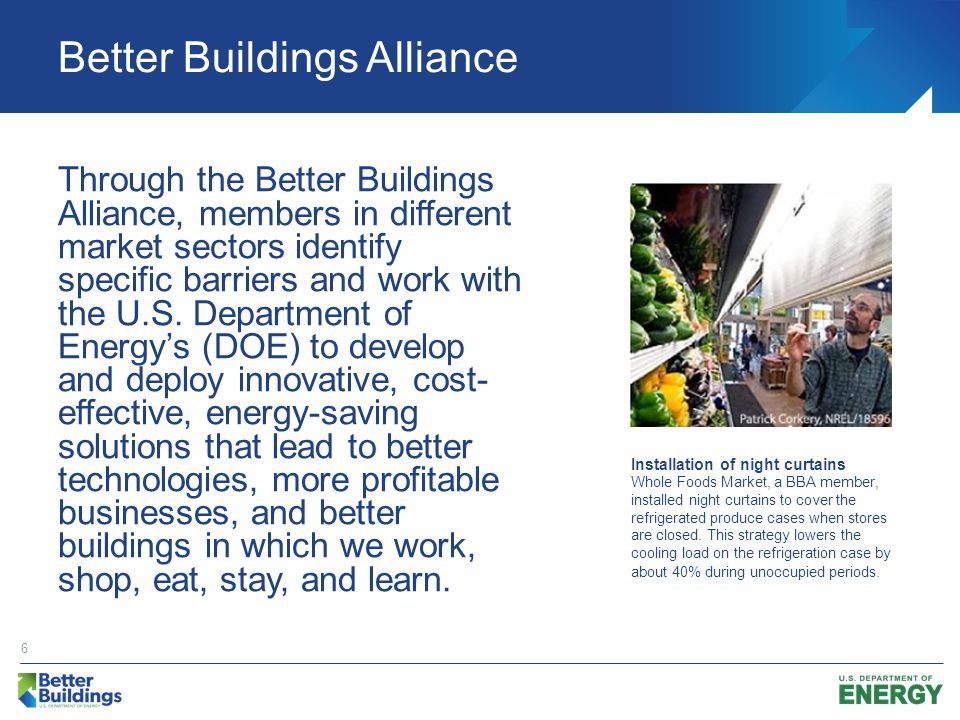 Better Buildings Alliance: Who is Involved.