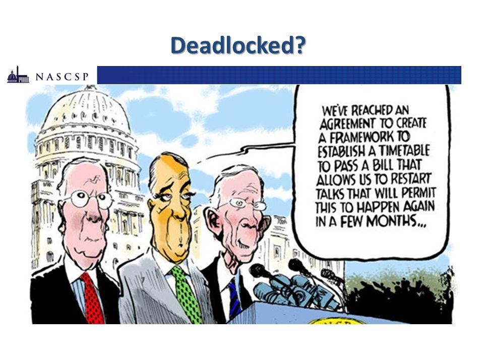 Deadlocked?