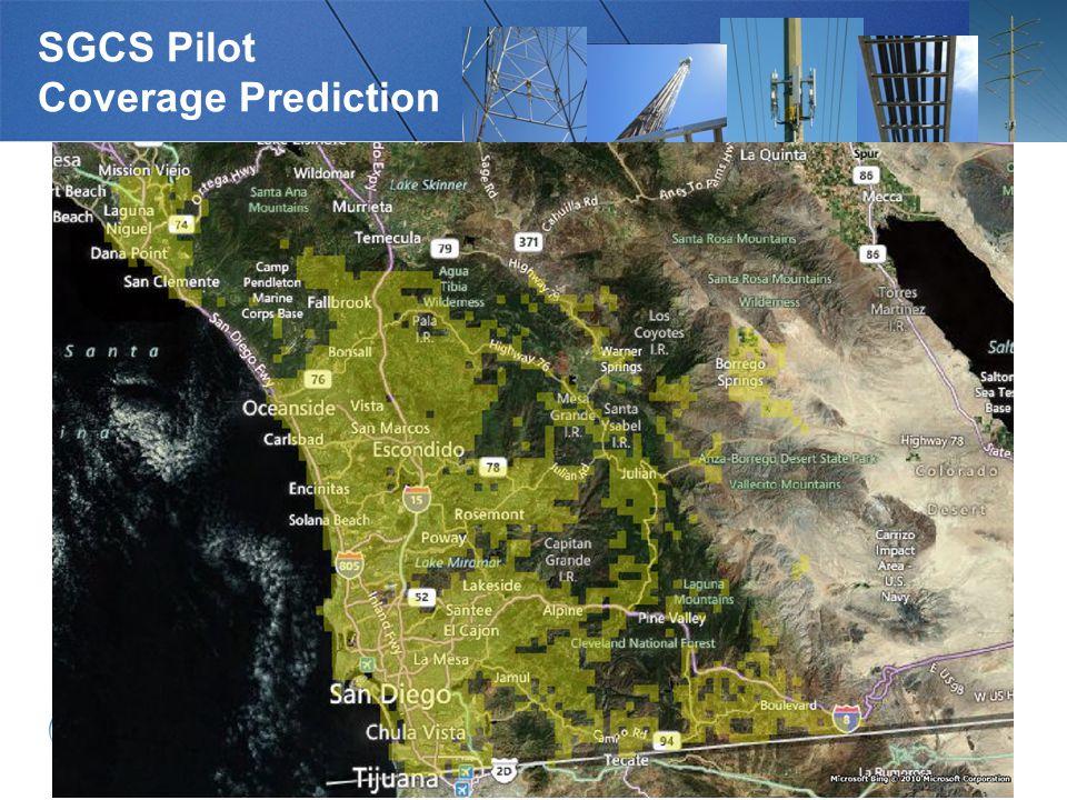 SGCS Pilot Coverage Prediction