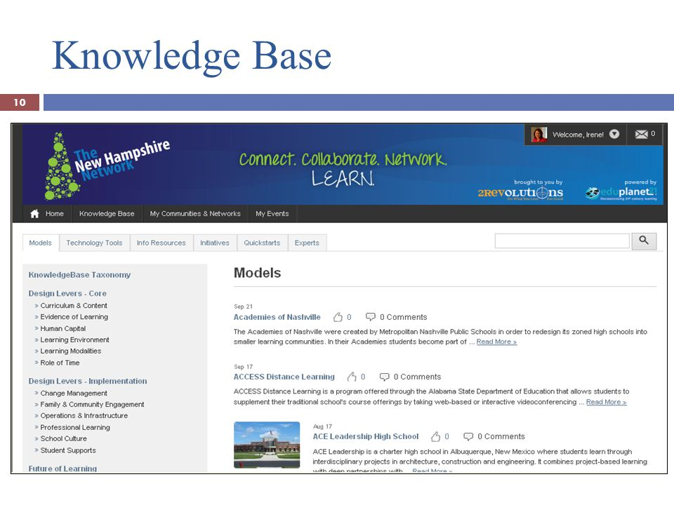 Knowledge Base 10