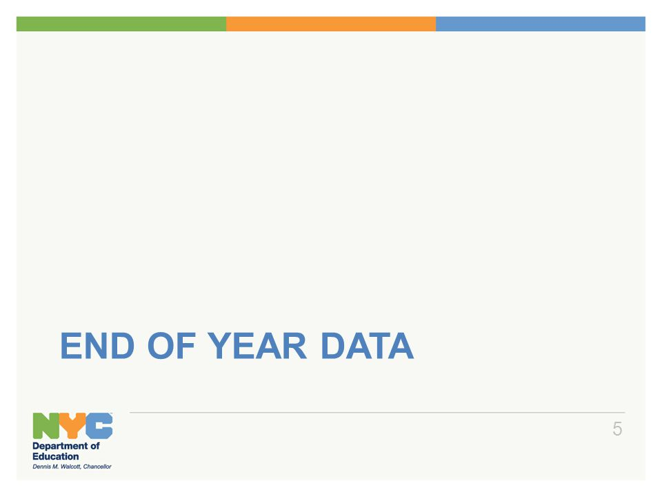 END OF YEAR DATA 5