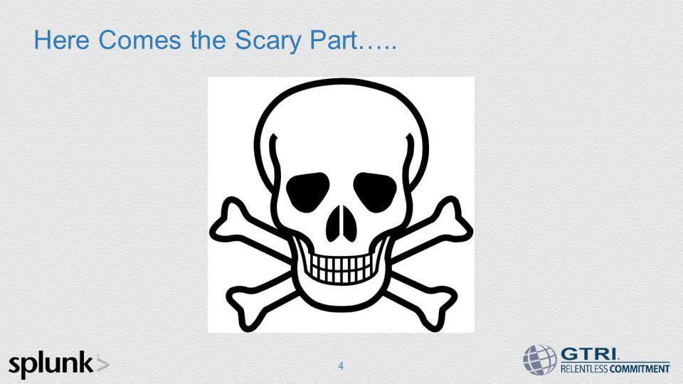 Here Comes the Scary Part….. 4