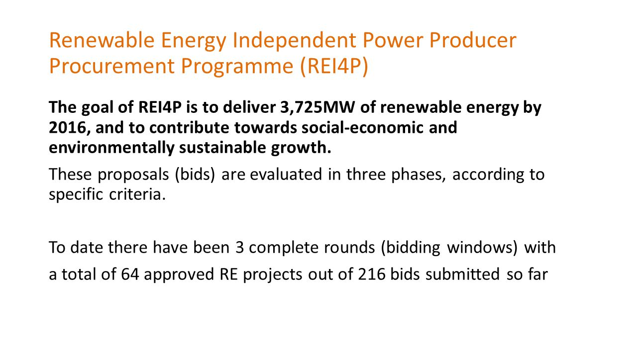 Description of economic development requirements with respect to local communities (Tait 2013) ElementRequirementsDescription Shareholding by local community 2.5% – 5% of project shareholding The defined local community will have an ownership share in the project company.