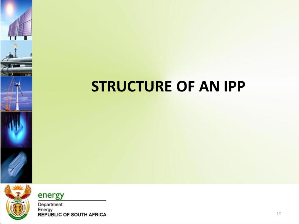 STRUCTURE OF AN IPP 10