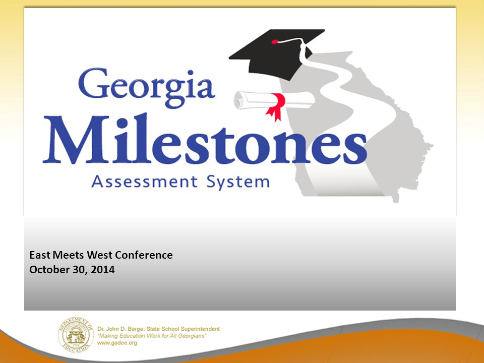 East Meets West Conference October 30, 2014