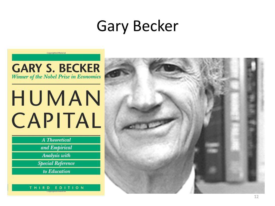Gary Becker 12