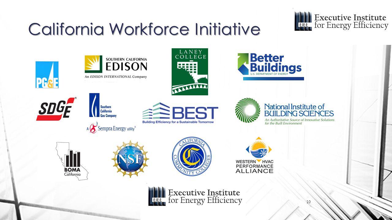 California Workforce Initiative 10