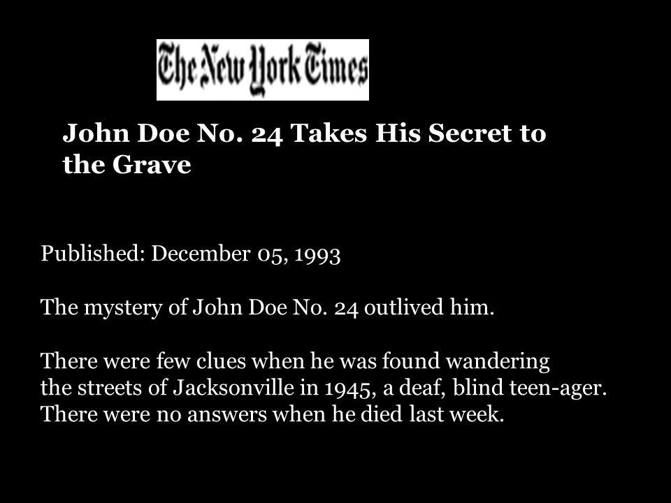 John Doe No.