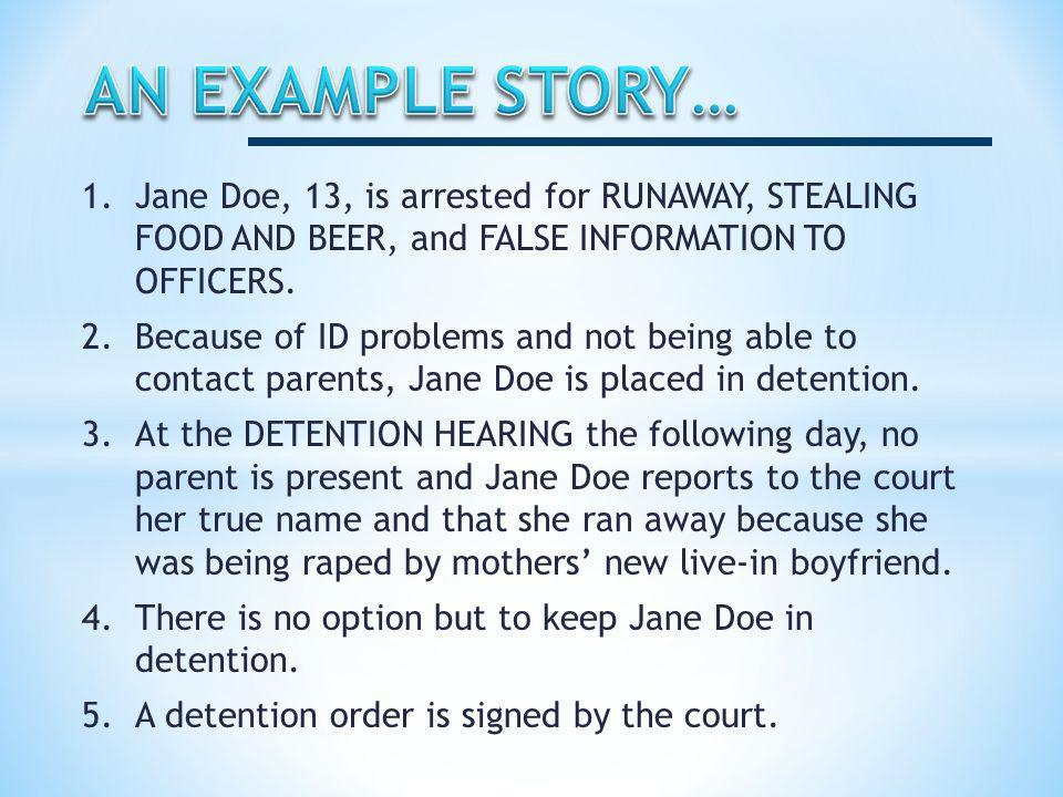 6.The court orders an Idaho Juvenile Rule 16 investigation.