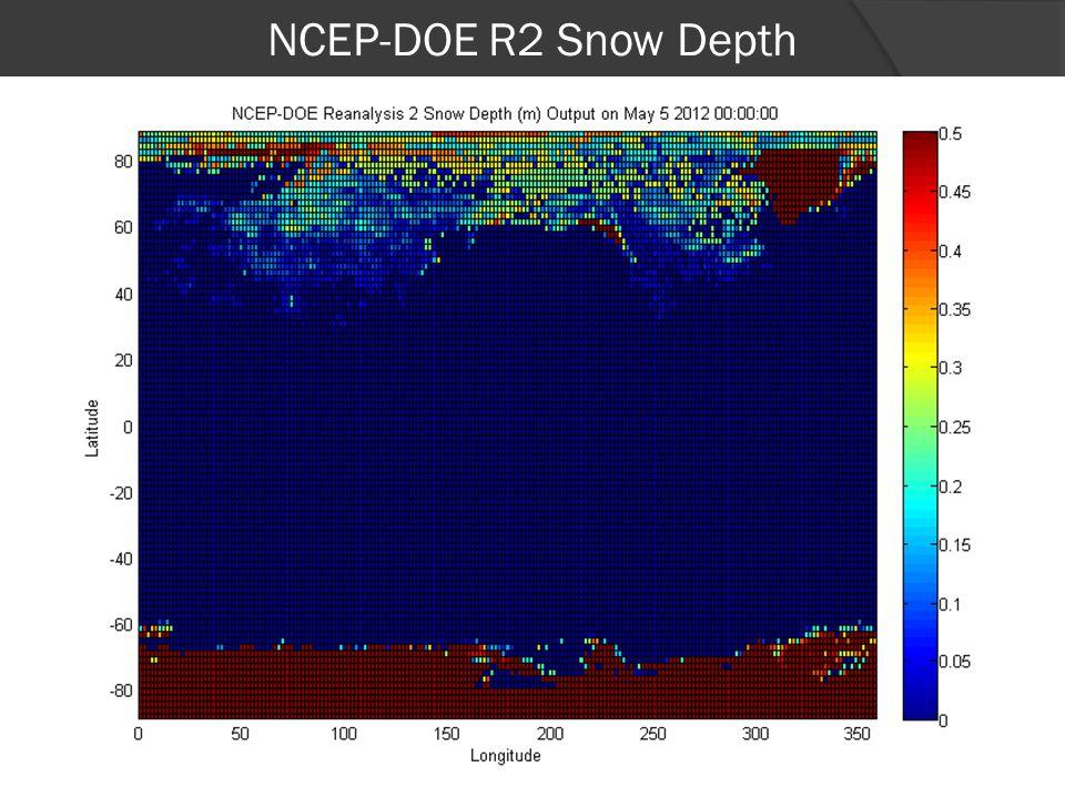 NCEP-DOE R2 Snow Depth 19