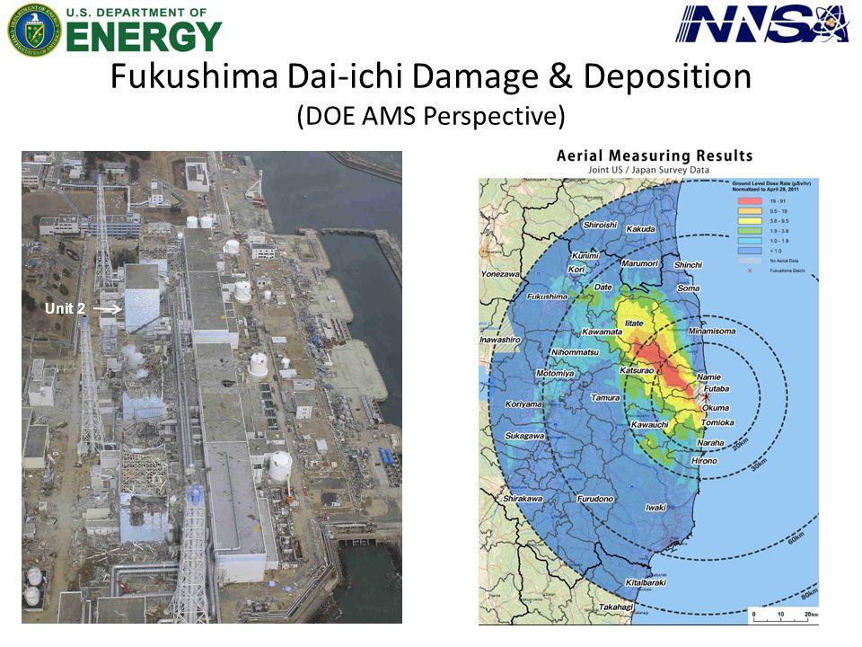 Fukushima Dai-ichi Damage & Deposition (DOE AMS Perspective) Unit 2