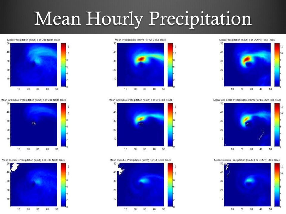 Mean Hourly Precipitation