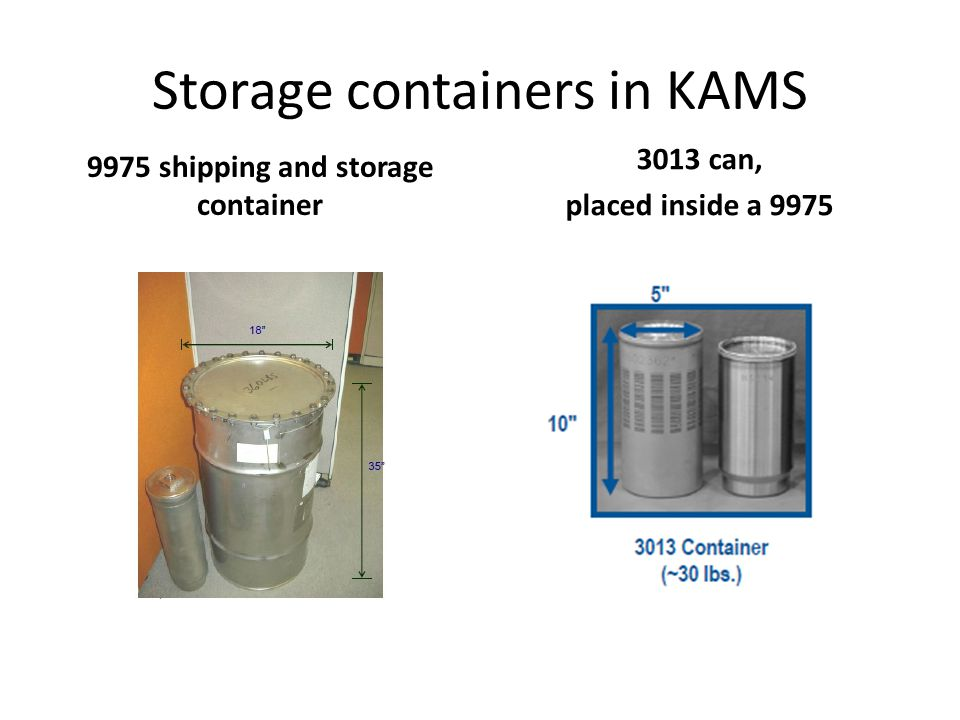 K-Reactor becomes KAMS; IAEA safeguards on about 2 MT – containers tagged and under video observation