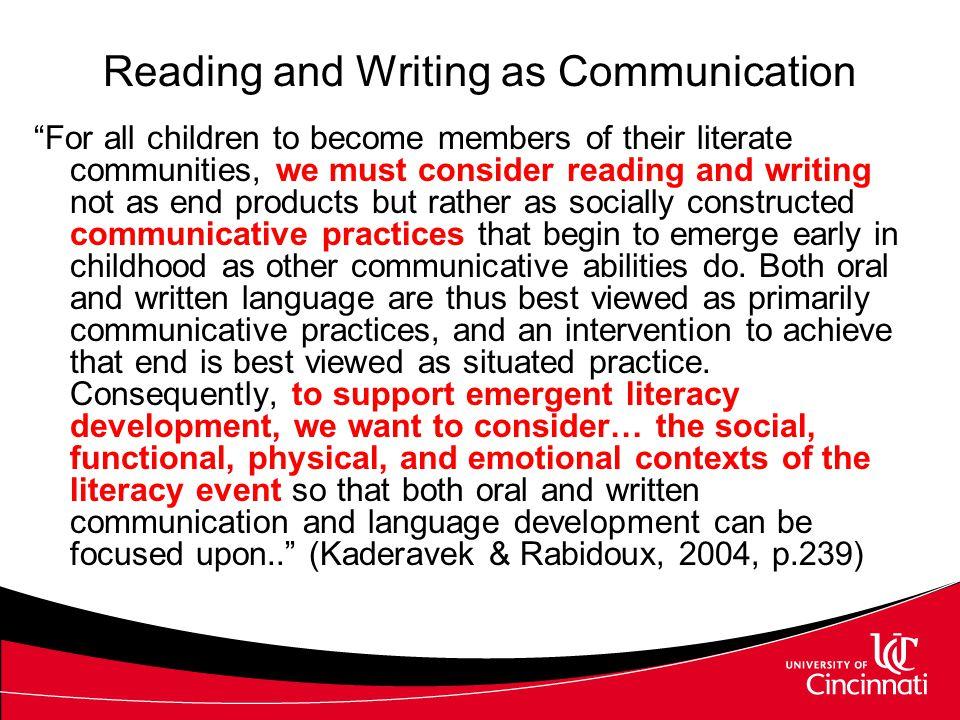 CONCEPTUALIZING LITERACY INSTRUCTION