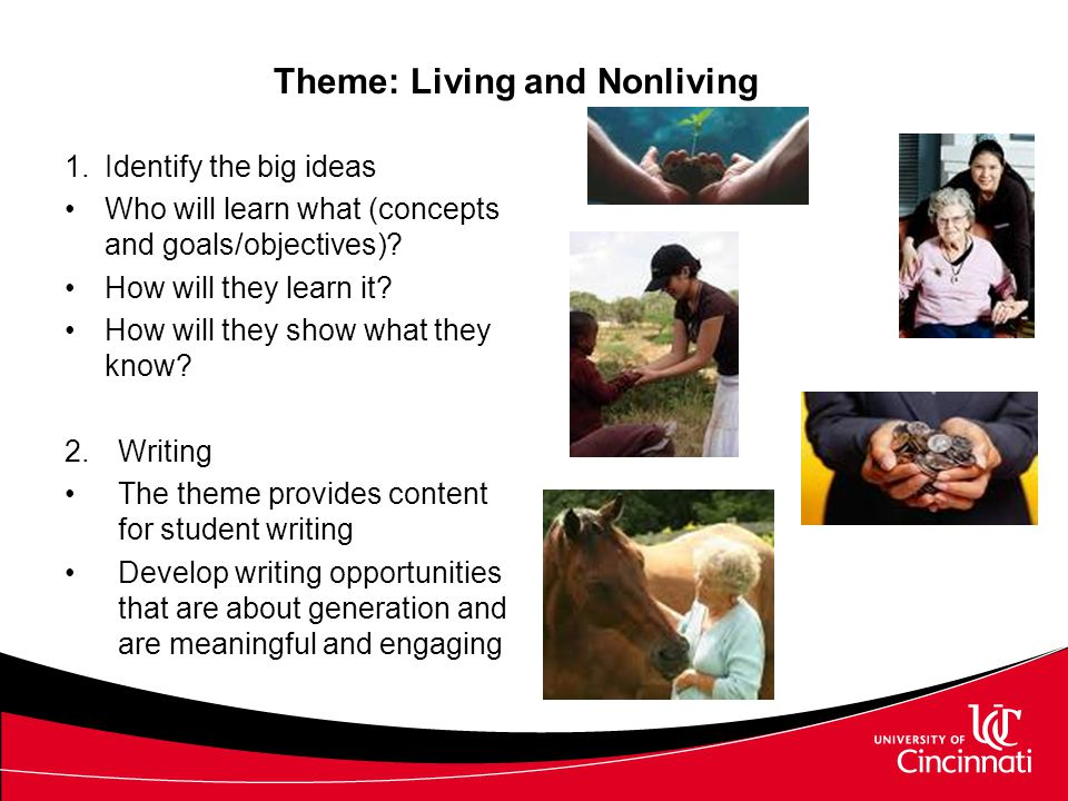 Writing for Students with Significant Disabilities Writing activities include –Traditional writing tools whenever possible –Adapted writing tools –Opportunities to compose using pictures, fill in, matching, dictating, etc.
