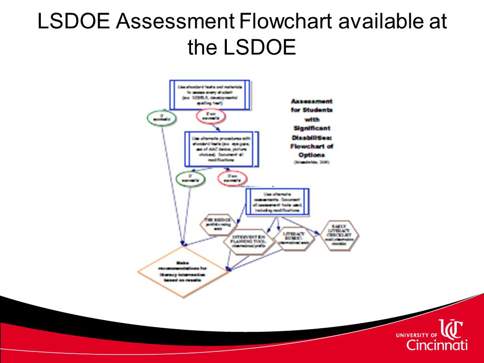 Assessment Resources Valuable resources available in your state: –http://sda.doe.louisiana.gov/Site%20Pages/Alt LiteracyView.aspxhttp://sda.doe.louisiana.gov/Site%20Pages/Alt LiteracyView.aspx