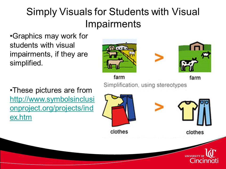 Visual Supports Visual supports include –Visual schedules (match schedules, PDA, calendar, etc.) tell students where to go –Structured work systems pr