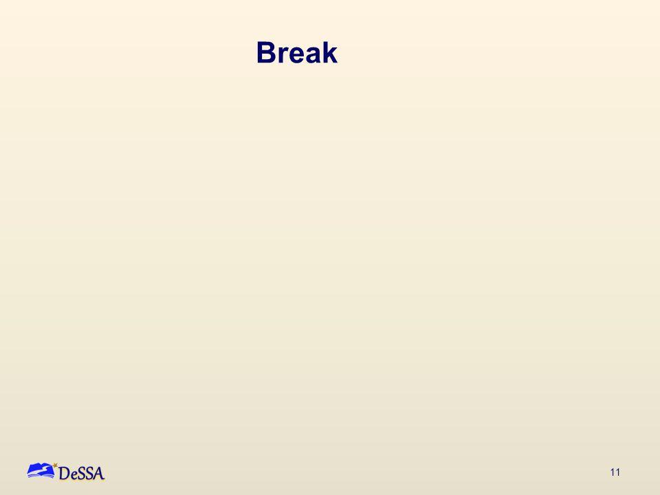 11 Break
