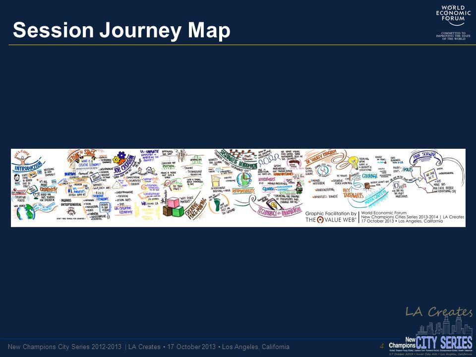 New Champions City Series 2012-2013 | LA Creates 17 October 2013 Los Angeles, California Session Journey Map 4