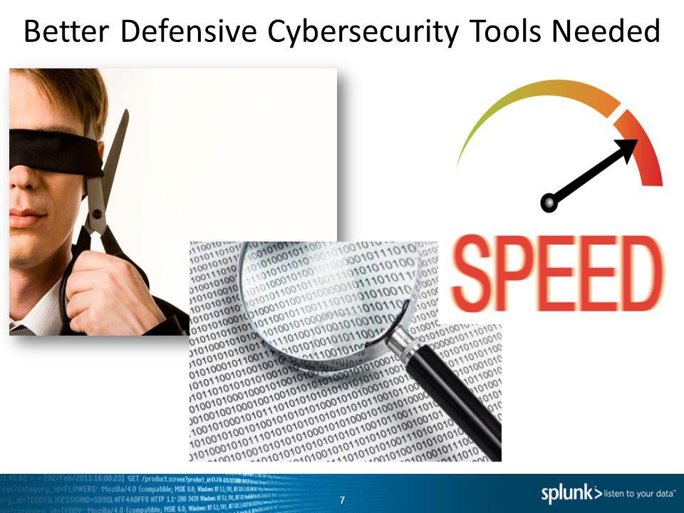 Better Defensive Cybersecurity Tools Needed 7