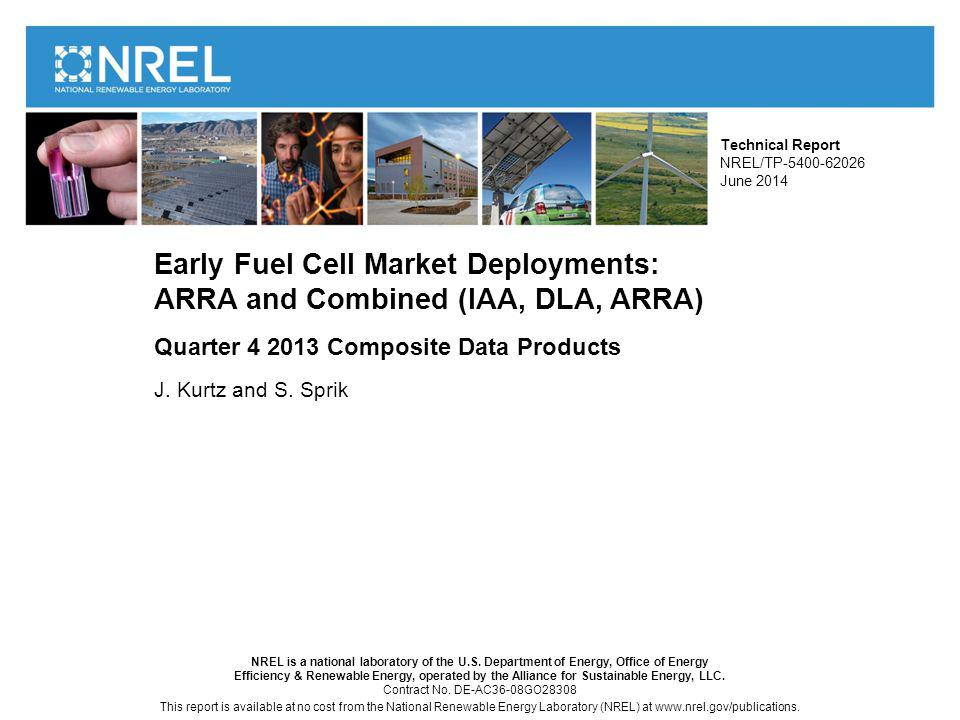 NREL is a national laboratory of the U.S.