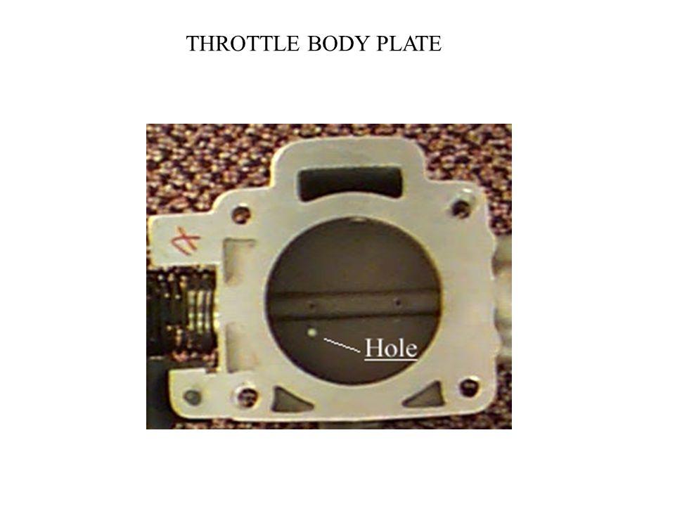 THROTTLE BODY PLATE
