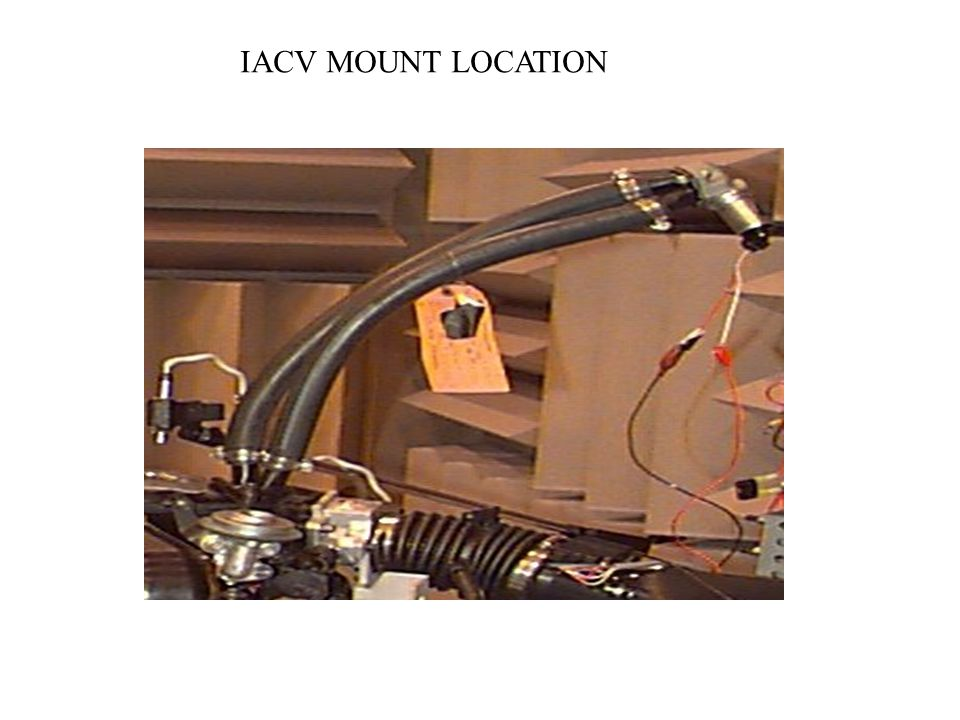 IACV MOUNT LOCATION